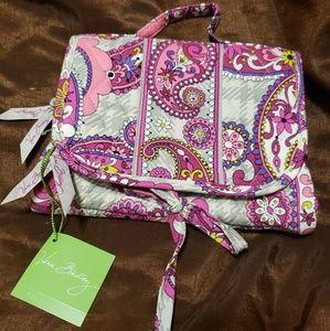 Vera Bradley Bags - PAISLEY MEETS PLAID Essentials Cosmetic Bag